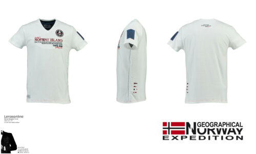 "GEOGRAPHICAL NORWAY T-Shirt /""JESIGNE/"" Kollektion 2018//2019 Super Qualität OVP"