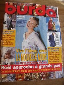 MAGAZINE-BURDA-TENDANCES-POUR-LE-BUREAU-LA-VILLE-LES-LOISIRS-SOIREE-11-1998