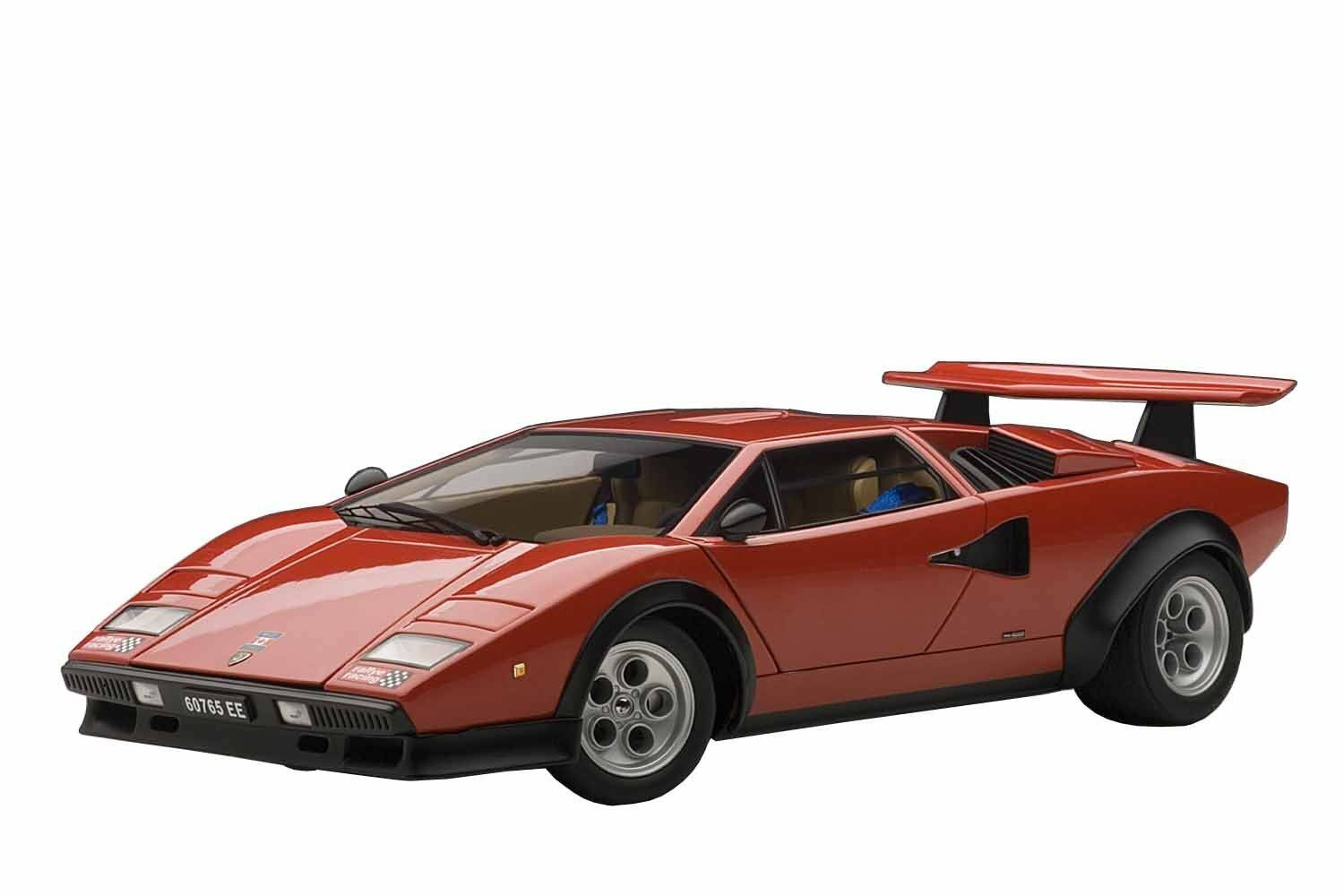 AUTOart Lamborghini counterkal Walter Wolf Red 1:18 Model Car
