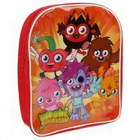 Moshi Monsters Pets Red Backpack Rucksack School Bag Padded Shoulder Straps