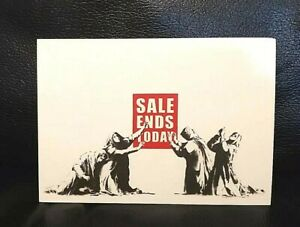 BANKSY-set-of-eight-authentic-postcards-sealed-and-rare