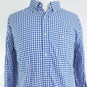 SOUTHERN-TIDE-CLASSIC-FIT-LONG-SLEEVE-GINGHAM-CHECK-BUTTON-DOWN-SHIRT-MENS-2XL
