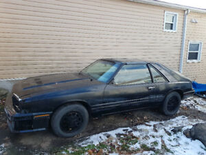 86 MERCURY CAPRI  SOME ASSEMBLY REQUIRED $6000