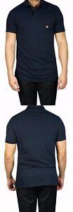 Poloshirt-Herren-kurz-arm-Gr-XXL-navy-Blau