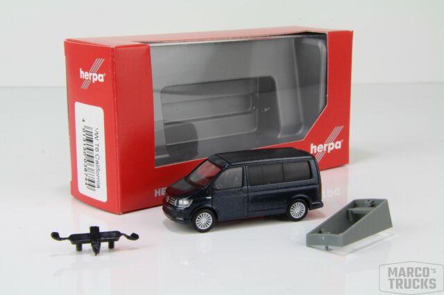 h0 modelo de coche 1:87 blanco Herpa 012904 minikit: VW t6 furgoneta