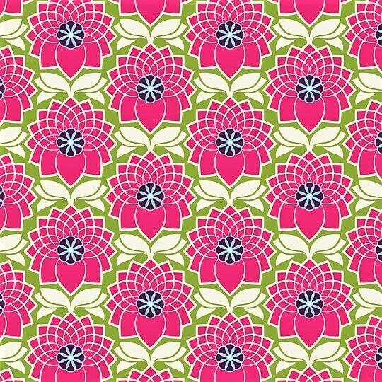 Soimoi Fabric Chrysanthemum /& Blossom Floral Fabric Prints By meter FL-645A