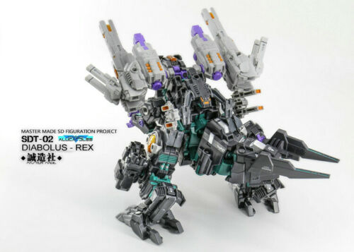 IN STOCK Master Made SDT-02 SDT02 Diabolus Rex Trypticon Action Figure