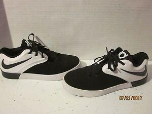 30900a4a18fc Nike KD Vulc 2 GS Kids Youth 6y Basketball Shoes Black White 725160 ...