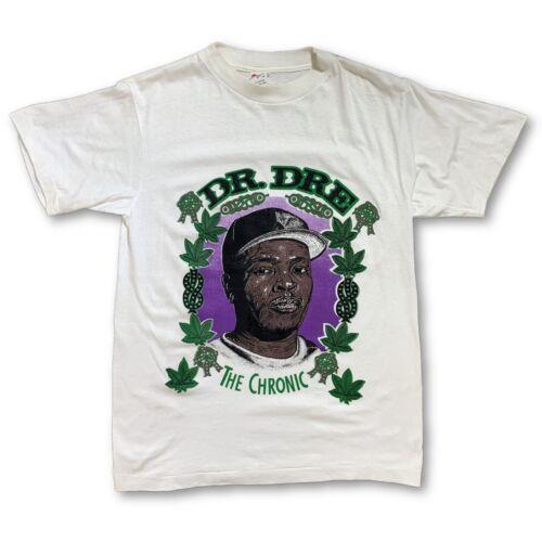 Vintage VTG 90s Dr Dre White Rap T-Shirt my bloody