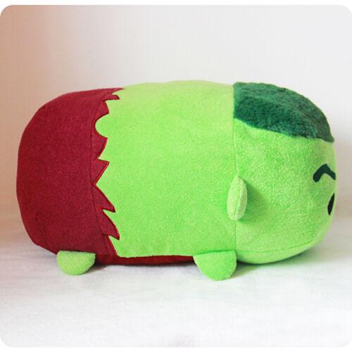 "Disney Store Marvel Hulk Large 18/"" Tsum Tsum Plush toy Pillow Cushion"
