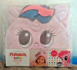 Frugal My Little Pony Baby Pinkie Pie à Capuche Serviette Par Playskool-afficher Le Titre D'origine Soulager La Chaleur Et La Soif.