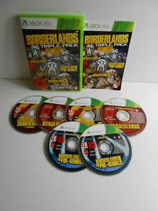 Boderlands Triple Pack 1 + 2 + The Pre-Sequel! für Xbox 360 / Xbox360