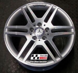Details About Mercedes C Class W204 1x 17 Genuine Amg Iv Diamond Cut Rear Alloy Wheel S139dsr