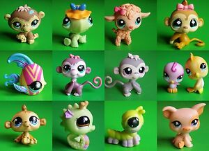 LPS-LITTLEST-PET-SHOP-MIXED-PETS-MONKEYS-etc-LOTS-TO-CHOOSE-FROM