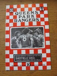 06111973 Queens Park Rangers v Sheffield Wednesday Football League Cup team - <span itemprop=availableAtOrFrom>Birmingham, United Kingdom</span> - Returns accepted within 30 days after the item is delivered, if goods not as described. Buyer assumes responibilty for return proof of postage and costs. Most purchases from business s - Birmingham, United Kingdom