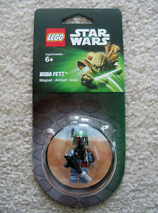 LEGO-Star-Wars-Rare-Exclusive-Boba-Fett-Magnet-Pack-850643-New-amp-Sealed