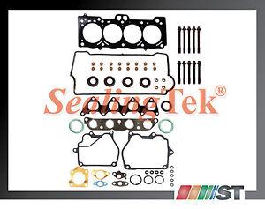 Fit 96-03 Suzuki G18K J18A J20A Engine Cylinder Head Gasket Set w// Bolts Kit NEW
