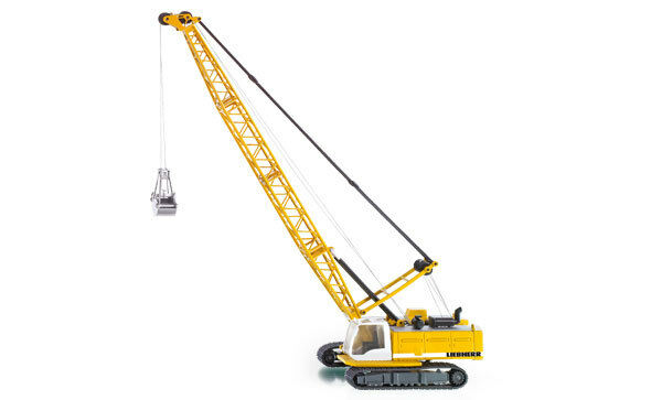 Siku súper 3536 1 50 sitio de construcción Liebherr Crawler Cable Excavadora Modelo