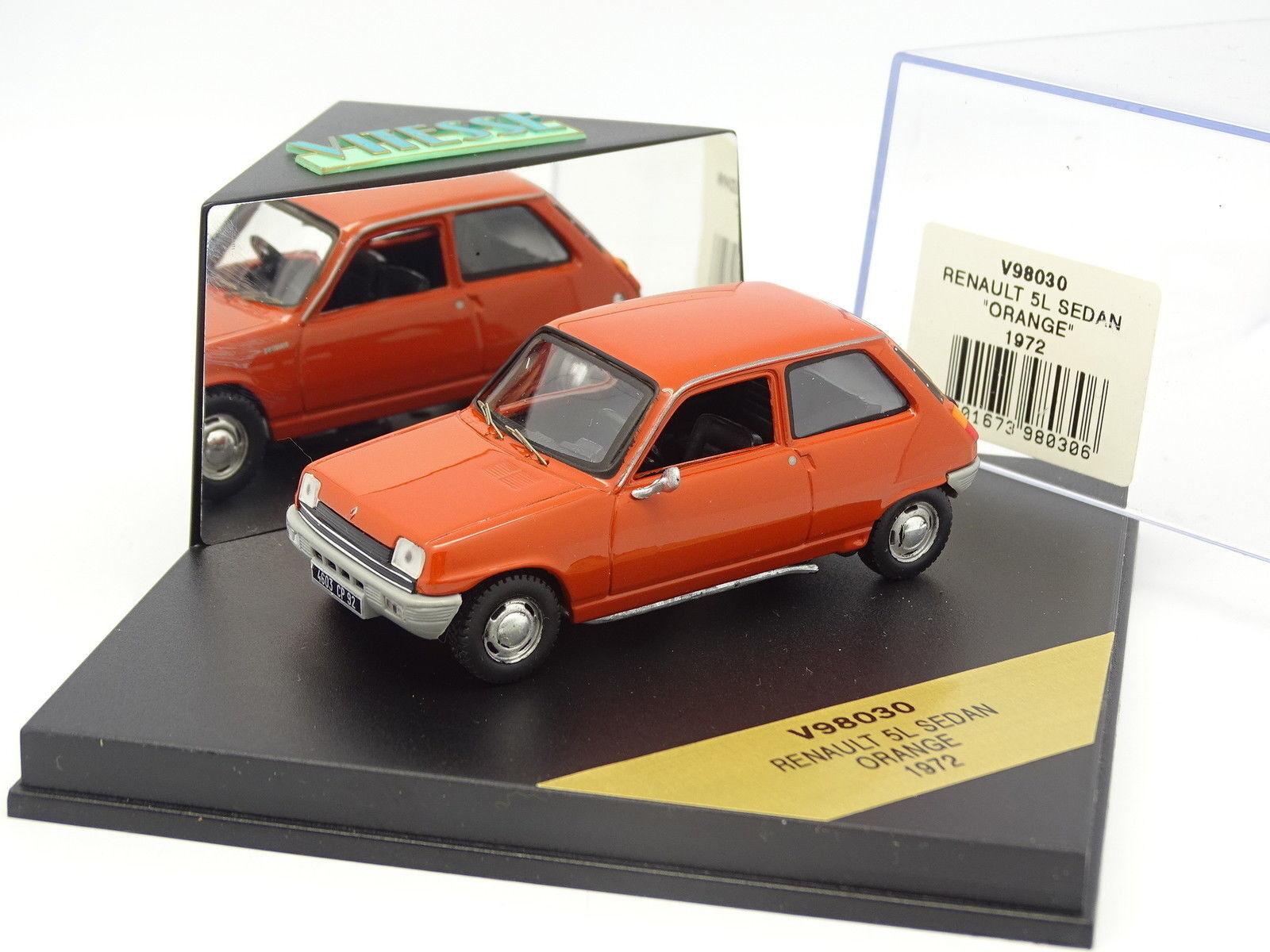Speed 1 43 - Renault 5 L orange 1972
