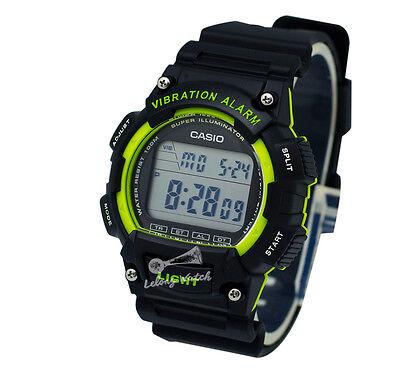 -Casio W736H-3A Digital Watch Brand New & 100% Authentic