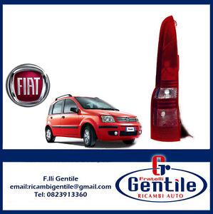 FIAT-PANDA-169-DAL-2003-FARO-FANALE-FANALINO-STOP-POSTERIORE-SINISTRO-SX-NERO