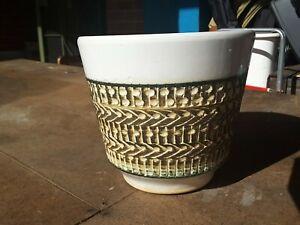 Vintage-West-German-Ceramic-Planter-Plant-Pot-60s-Retro-Mid-Century