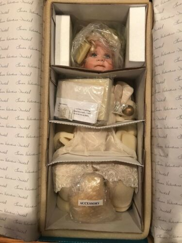 LINDA VALENTINO MICHEL. HONESTY, PORCELAIN DOLL. MINT CONDITION