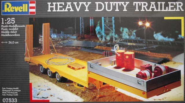 Revell 1 25 Heavy Duty Trailer
