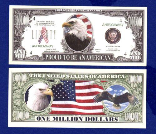 Novelty FAKE ITEM-E MONEY Collectible 1-AMERICAN  EAGLE 911 DOLLAR  BILL