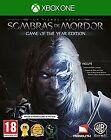 Xbox One La Tierra Media Sombras De Mordor GOTY Nuevo Precintado Pal España