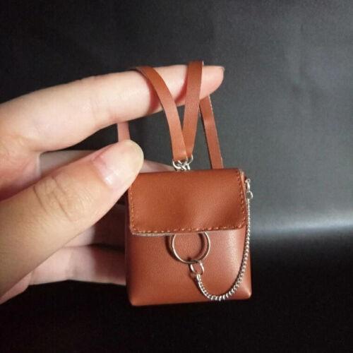 "DIY 1//6 Scale Brown backpack model For 12/"" Phicen UD HT BJD Female Figure"