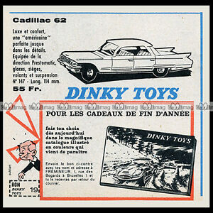 DINKY-TOYS-1962-CADILLAC-62-147-Pub-Publicite-Ad-D61