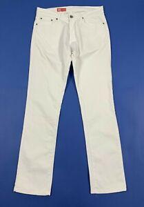 Zara-jeans-uomo-usato-W34-EUR44-tg-48-gamba-dritta-straight-slim-boyfriend-T5272