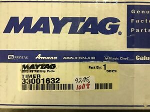 MAYTAG-DRYER-TIMER-33001632-FREE-SHIPPING