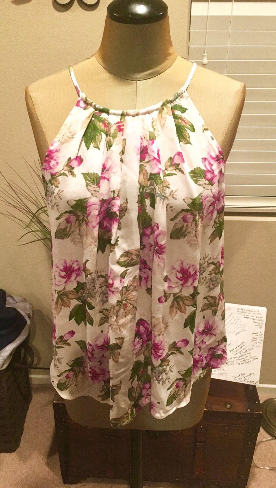 Gorgeous Joie Floral Blouse Größe Medium NWOT