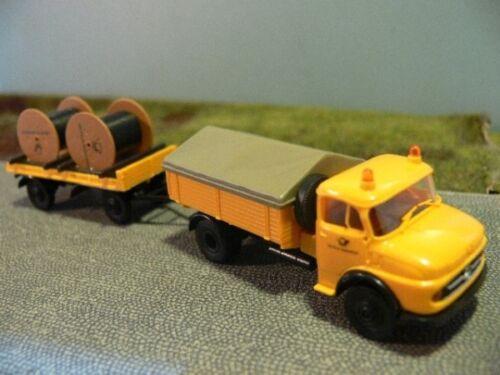 1//87 Brekina MB 322 DP Anhänger+Kabeltrommeln 018549