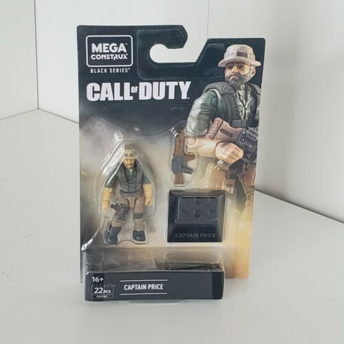 NEW 2020 HEROES Mega Construx Black Series Call of Duty MW CAPTAIN PRICE GNV42
