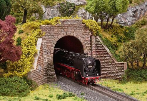 Und Oberleitungsbetr Faller 120559-1//87 H0 Tunnelportal Für Dampf Neu