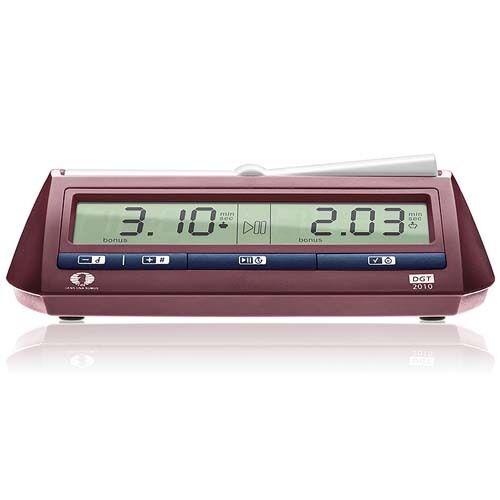 DGT 2010 Digital  échecs Horloge  autorisation de vente de la marque