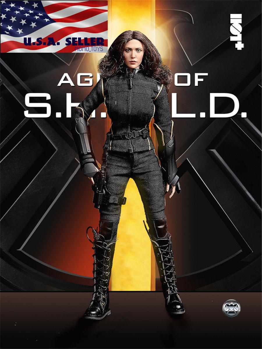1 6 Traje de Disfraz viuda negra de agente de S.H.I.E.L.D. Set para 12  PHICEN figura ❶ USA ❶