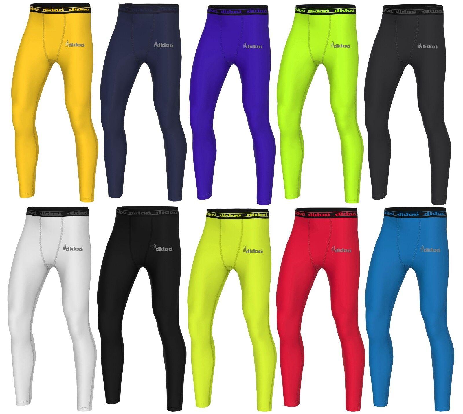 Détails sur Hommes Sous Vêtement de Compression Collant sous Gym Pantalon Entraînement