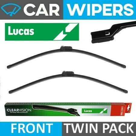 """SEAT Ateca 2016 Onwards Lucas Clearvision Direct Fit 26/"""" /& 18/"""" Wiper Blades"""