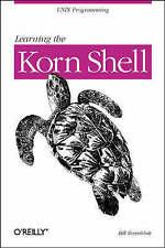 Good, Learning the Korn Shell (Nutshell Handbook), Bill Rosenblatt, Book