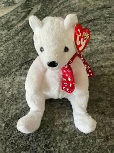 2000 Holiday Teddy the Christmas Bear - Ty Beanie Baby, Retired with Errors