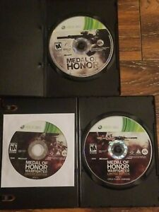 Lot-of-2-Xbox-360-Games-Medal-of-Honor-Warfighter-Project-Honor-Edition