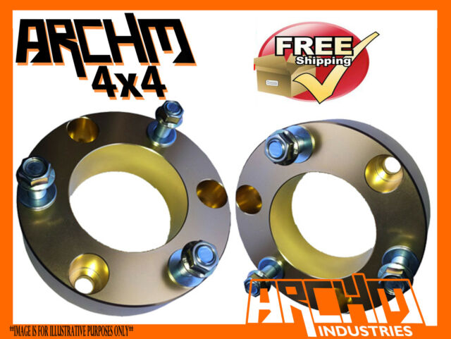 ARCHM4X4 COIL STRUT SPACER 10mm-PAIR TO SUIT NISSAN NAVARA D40 4WD