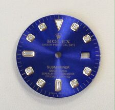 Rolex Submariner Blue Diamond Dial For Two Tone Watch