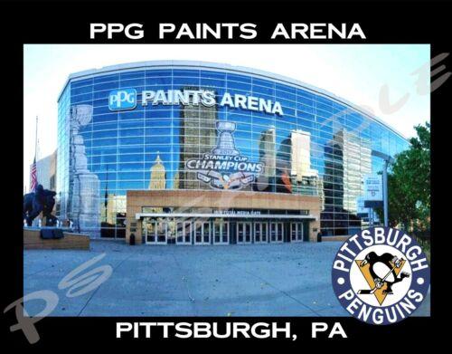 Pittsburgh PPG PAINTS ARENA Travel Souvenir Flexible Fridge Magnet