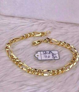 GoldNMore-18K-Gold-Bracelet-8-inches