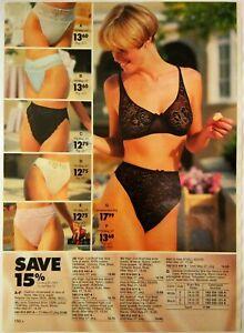 1991-Vintage-PAPER-PRINT-AD-brief-bra-bikini-Elita-women-lingerie-underwear
